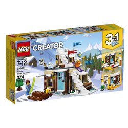 LEGO Creator Modular Winter Vacation 31080 3in1 brickskw bricks kw kuwait online