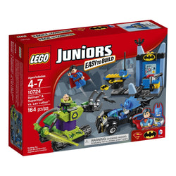 Lego Juniors Super Heroes Batman & Superman vs. Lex Luthor 10724 brickskw bricks kw kuwait online