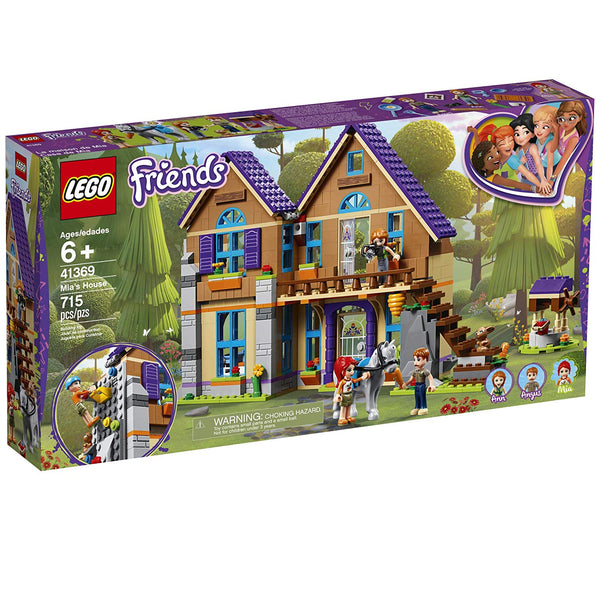 LEGO Friends Mia's House 41369 Building Kit , New 2019 brickskw bricks kw kuwait online