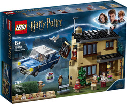 LEGO Harry Potter 4 Privet Drive 75968; Fun Children's Building Toy for Kids Who Love Harry Potter Movies, Collectible Playsets, Role-Playing Games and Dollhouse Sets, New 2020 (797 Pieces) brickskw bricks kw q8 kuwait online store puzzle lego toys play baby kids adult تركيب ليقو ليجو ذكاء مهارات العاب محل