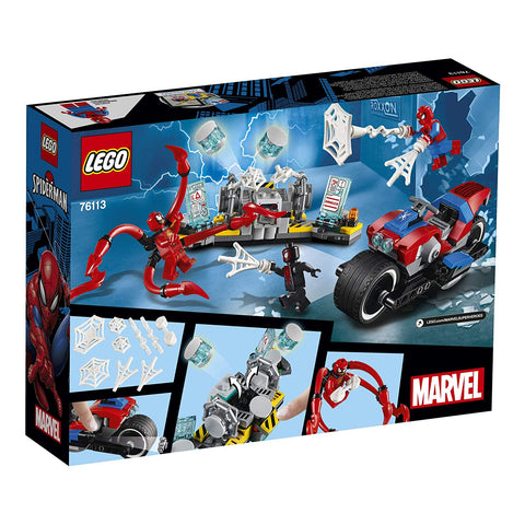 Super Heroes Spider-Man Bike Rescue 76113-2