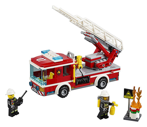 CITY Fire Ladder Truck 60107-3