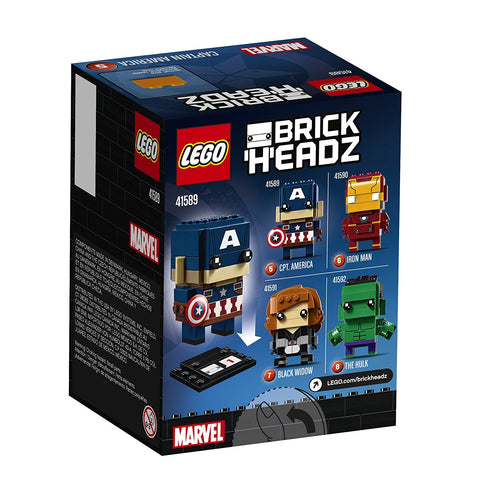 BrickHeadz Captain America 41589-2