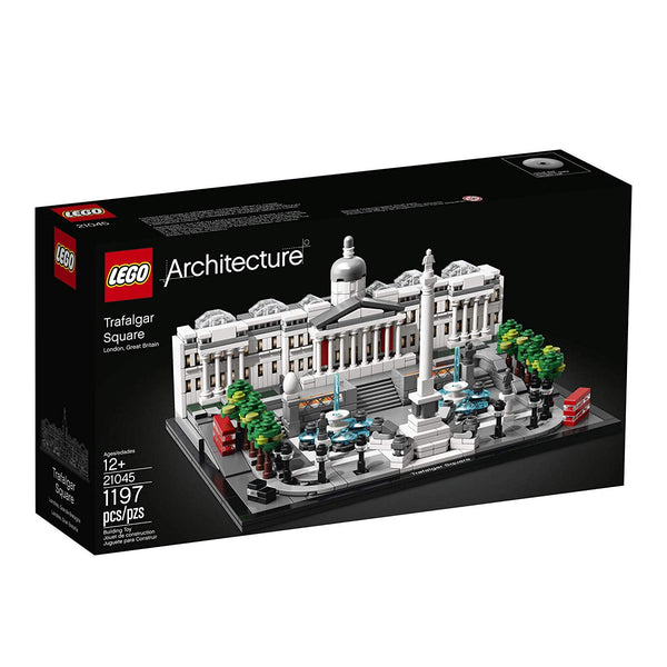 LEGO Architecture 21045 Trafalgar Square Building Kit, New 2019 brickskw bricks kw kuwait online store