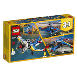 LEGO Creator 3in1 Race Plane 31094 Building Kit , New 2019 brickskw bricks kw kuwait online