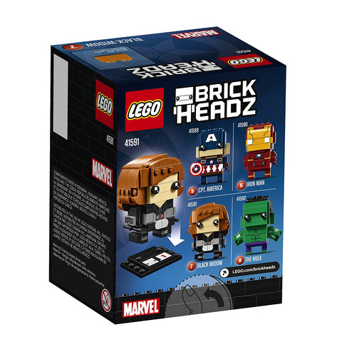 BrickHeadz Black Widow 41591-2