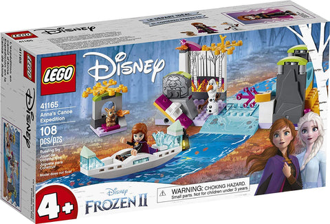 LEGO Disney Frozen II Anna's Canoe Expedition 41165 Frozen Adventure Easy Building Kit, New 2019 brickskw bricks kw kuwait online store