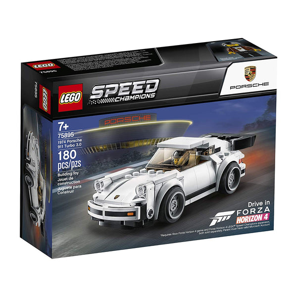 LEGO Speed Champions 1974 Porsche 911 Turbo 3.0 75895 Building Kit, New 2019