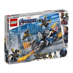 LEGO Marvel Avengers Captain America: Outriders Attack 76123 Building Kit, New 2019 brickskw bricks kw kuwait online store