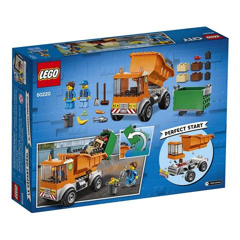 City Garbage Truck 60220-2