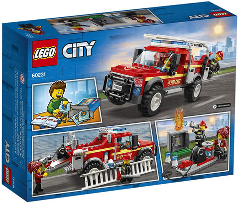 City Fire Chief Response Truck 60231-2
