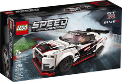 LEGO Speed Champions Nissan GT-R NISMO 76896 Toy Model Cars Building Kit Featuring Minifigure, New 2020 (298 Pieces) brickskw bricks kw q8 kuwait onilne store bricksq8