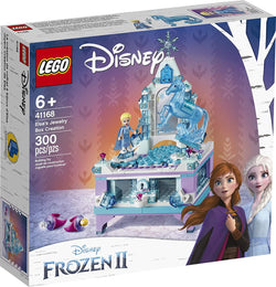 LEGO Disney Frozen II Elsa's Jewelry Box Creation 41168 Disney Jewelry Box Building Kit with Elsa Mini Doll and Nokk Figure for Creative Play, New 2019 brickskw bricks kw kuwait online store