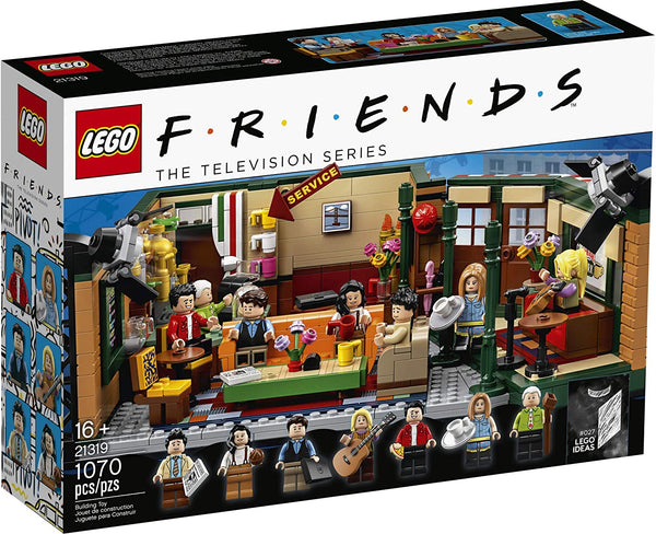 LEGO Ideas 21319 Central Perk Building Kit (1,070 Pieces) friends brickskw bricks kw kuwait online store