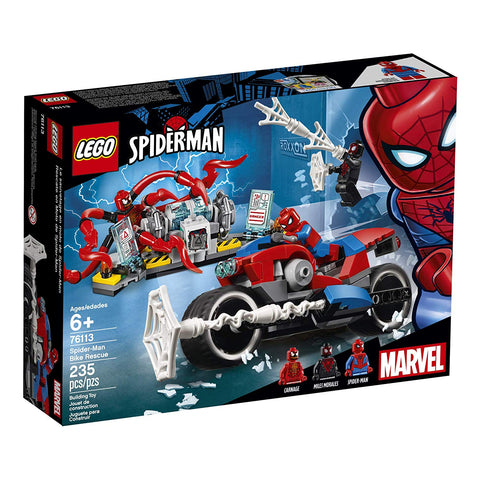 Super Heroes Spider-Man Bike Rescue 76113-1
