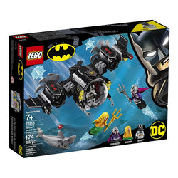 LEGO DC Batman: Batman Batsub and the Underwater Clash 76116 Building Kit, 2019 brickskw bricks kw kuwait online store