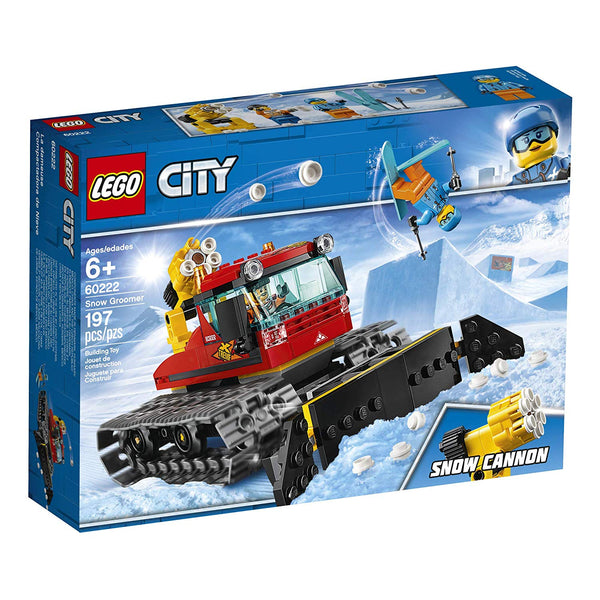 LEGO City Great Vehicles Snow Groomer 60222 Building Kit , New 2019  brickskw bricks kw kuwait online