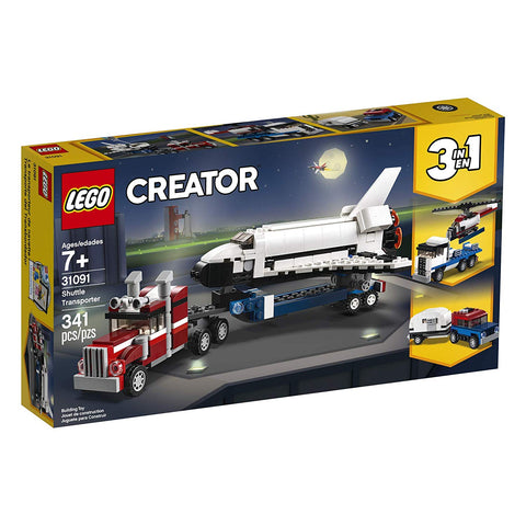 Creator Shuttle Transporter 3in1 31091-1