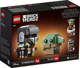 BrickHeadz Star Wars The Mandalorian & The Child 75317