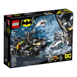LEGO DC Batman Mr. Freeze Batcycle Battle 76118 Building Kit, New 2019 brickskw bricks kw kuwait online store