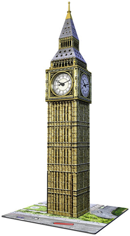 Ravensburger Big Ben 3D Includes Real Working Clock 125869-2