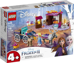 LEGO Disney Frozen II Elsa's Wagon Carriage Adventure 41166 Building Kit with Elsa & Sven Toy Figure, New 2019 brickskw bricks kw kuwait online store