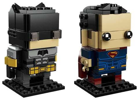 BrickHeadz Tactical Batman & Superman 41610-3