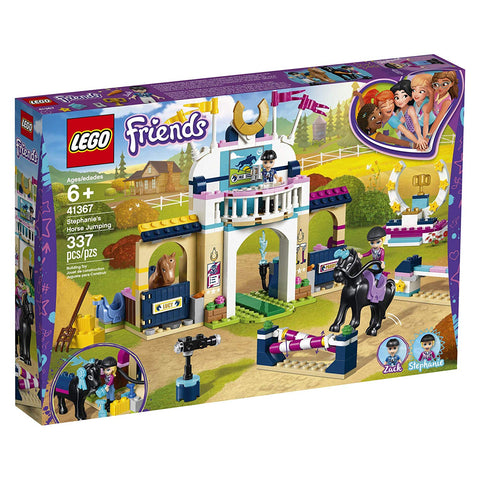 LEGO Friends Stephanie's Horse Jumping 41367 Building Kit , New 2019 brickskw bricks kw kuwait online