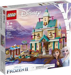 LEGO Disney Frozen II Arendelle Castle Village 41167 Toy Castle Building Set with Popular Frozen Characters for Imaginative Play, New 2019 brickskw bricks kw kuwait online store