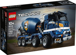 LEGO Technic Concrete Mixer Truck 42112 Building Kit, Kids Will Love Bringing The Construction Site to Life with This Cool Concrete Truck Toy Model Set, New 2020 (1,163 Pieces) brickskw bricks kw q8 kuwait onilne store bricksq8