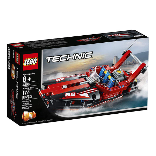 LEGO Technic Power Boat 42089 Building Kit , New 2019 brickskw bricks kuwait ku online