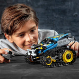 LEGO Technic Remote-Controlled Stunt Racer 42095 Building Kit , New 2019 brickskw bricks kw kuwait online