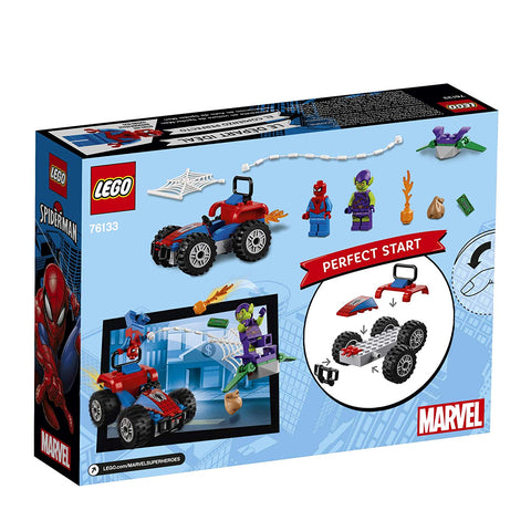 Super Heroes Spider-Man Car Chase 76133-2