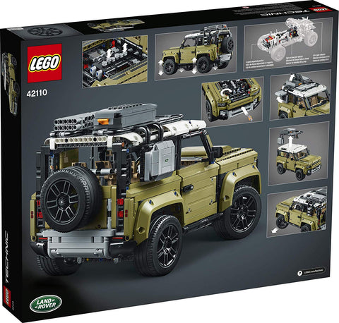 Technic Land Rover Defender 42110-2