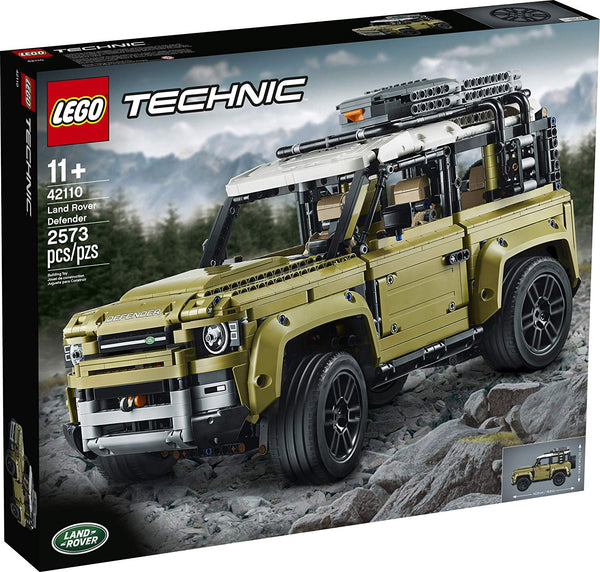 LEGO Technic Land Rover Defender 42110 Building Kit, New 2019 brickskw bricks kw kuwait online store shop