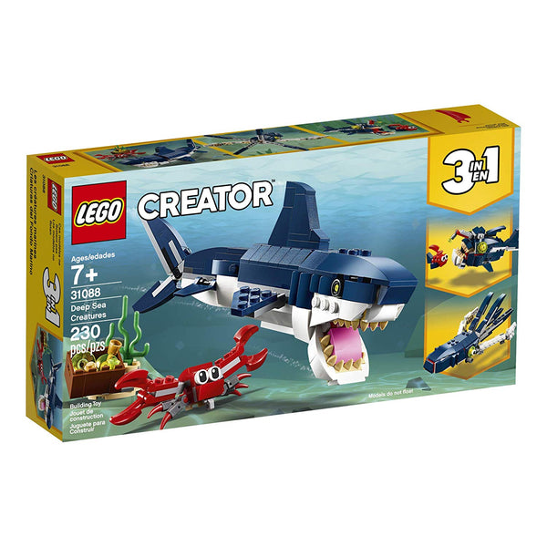 Creator Deep Sea Creatures 3in1 31088