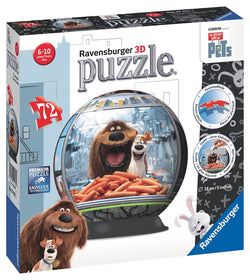 Ravensburger The Secret Life of Pets 3D Puzzle Ball 121922 brickskw bricks kw kuwait online