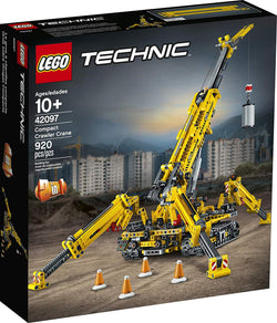 LEGO Technic Compact Crawler Crane 42097 Building Kit, New 2019 brickskw bricks kw kuwait online store shop