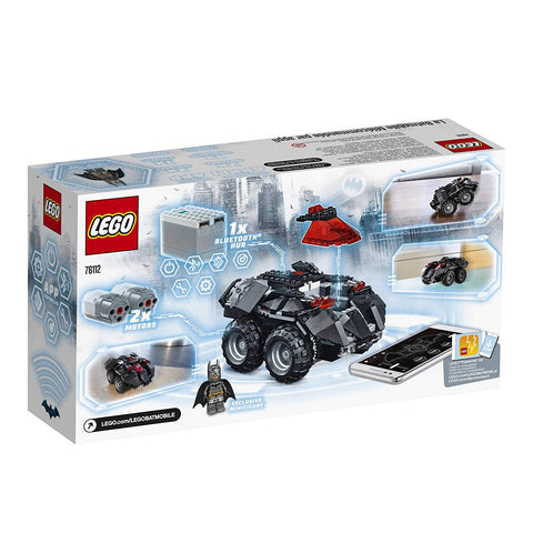 Super Heroes App-Controlled Batmobile 76112-2