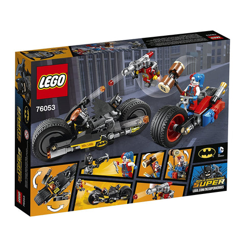 Super Heroes Batman: Gotham City Cycle Chase 76053-2