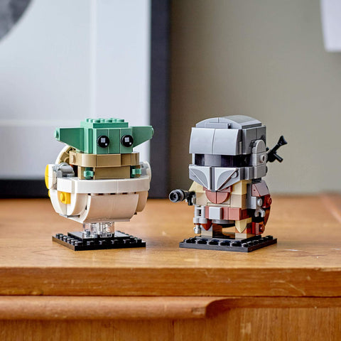 BrickHeadz Star Wars The Mandalorian & The Child 75317-4