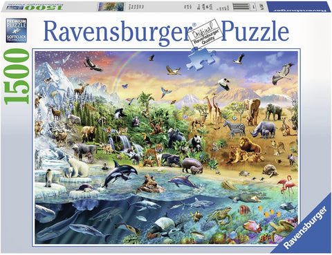 Ravensburger 16364 Our Wild World Jigsaw Puzzle (1500 Piece)