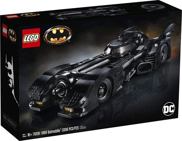 LEGO DC Batman 1989 Batmobile 76139 Building Kit, New 2020 (3,306 Pieces) brickskw bricks kw kuwait online store puzzle