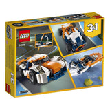 LEGO Creator 3in1 Sunset Track Racer 31089 Building Kit , New 2019 brickskw bricks kw kuwait online