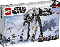 LEGO Star Wars AT-AT 75288 Building Kit, Fun Building Toy for Kids to Role-Play Exciting Missions in the Star Wars Universe and Recreate Classic Star Wars Trilogy Scenes, New 2020(1,267 Pieces) brickskw bricks kw q8 kuwait online store puzzle lego toys play baby kids adult تركيب ليقو ليجو ذكاء مهارات العاب محل