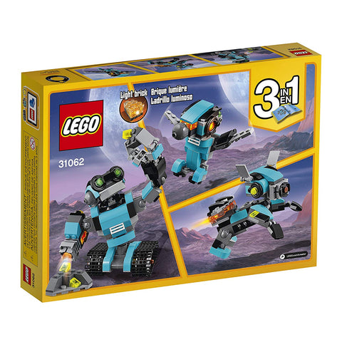 Creator Robo Explorer 31062 3in1-2