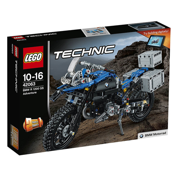 Lego Technic 42063 BMW R 1200 GS Adventure - brickskw bricks kuwait