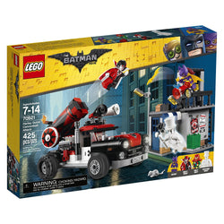 LEGO BATMAN MOVIE Harley Quinn Cannonball Attack 70921 brickskw bricks kw kuwait online