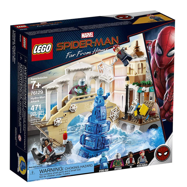 LEGO Marvel Spider-Man Far From Home: Hydro-Man Attack 76129 Building Kit, New 2019 brickskw bricks kw kuwait online store