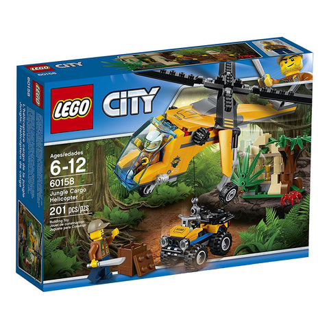 City Jungle Cargo Helicopter 60158-1